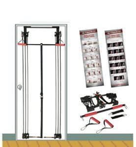 Tower Door Gym, Complete Gym Full Body, 200 Workouts Fitness Exercises