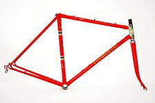 Vintage Cucchietti Bicycle Frameset Fiorelli Road Bike Frame Set 52 cm Very Rare
