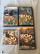 Zoo Tycoon 2 PC Game Lot 3 Expansions Marine Mania African Adventure Endangered