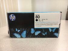 GENUINE HP #80 BLACK PRINTHEAD DESIGNJET 1000 1050 C4820A FACTORY 2019 SEALED