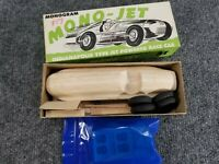 VINTAGE MONOGRAM MONO-JET INDY RACE CAR JET POWERED CAR WOODEN MODEL