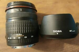 Sigma Compact Hyperzoom 28-200mm 1:3.5-5.6 Macro Zoom Lens