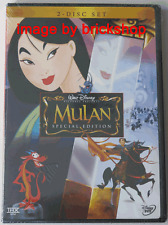 Mulan DVD 2004 2-Disc Set Special Edition Brand New Sealed Walt Disney