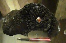 Magnifique Natural Wood Brushed Varnished Black Mole