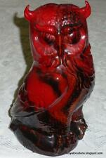 Royal Doulton Veined Flambe Owl Antique Collectible Figurine **ULTRA RARE**