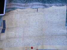 1761 Hereford, Worcester Indenture on Vellum, relating to Hereford and Worcester