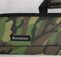 Messermeister 8 Pocket Camouflage Padded Knife Roll Hunting New