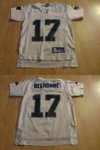 Youth Carolina Panthers Jake Delhomme S (8) Jersey (White) Reebok Jersey