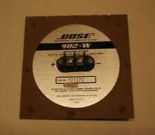 BOSE 402 402-W Series Speaker Terminal genuine original BOSE spare part