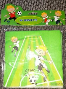 25 Football Napkins, Birthday Party, Lunchbox, Picnic Kids Party, football party