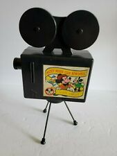 Vintage Mickey Mouse News Reel Toy Projector Mattel Walt Disney Productions I6