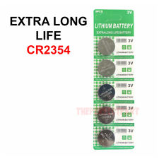 5 PCS CR2354 Lithium Battery 3V Button Cell Computer Portable Devices EXTRA LIFE