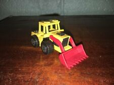 1:64 SCALE 1979 MATCHBOX SUPERFAST TRACTOR SHOVEL RED MADE IN MACAU