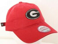 NEW University of Georgia Bulldogs Red Zephyr Campus Adjustable Hat Women's OSFA
