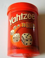 Hasbro Yahtzee To Go A Classic Dice Game  Great game for Famly vacations