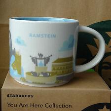 Starbucks City Mug Tasse Becher You are here YAH Ramstein Deutschland 14oz NEU