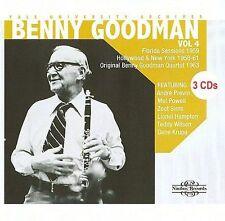 Yale University Archives, Vol. 4: 1958 to 1963 by Benny Goodman 3 CDs Nimbus