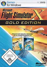 Microsoft Flight Simulator X Gold PC in DVD-Box deutsch mit Handbuch
