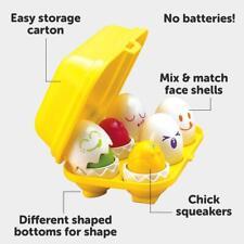 Baby Toddler Kids Educational Shape Sorter Toy Toomies Hide And Squeak Eggs NEW