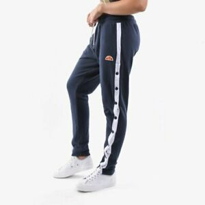 Ellesse Womens Chelsea Jog Pant Navy Color Block Active Wear SGC07324-NVY