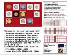 Look 12329-15-50 Plateau pour Monnaies 15x 50 mm pour Lindner Hartberger