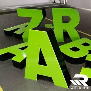 Reklameschild Friseur Nagelstudio Werbung Einzelbuchstaben 3D Led Buchstaben