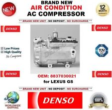 DENSO AIR CONDITIONING AC COMPRESSOR OEM: 8837030021 for LEXUS GS BRAND NEW UNIT