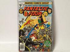 FANTASTIC FOUR #185 Marvel Comics 1977 VF-  vs Agatha Harkness!  FL