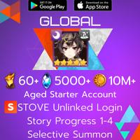 [Global] Specter Tenebria | Epic Seven Epic 7 Aged Moonlight Starter Account