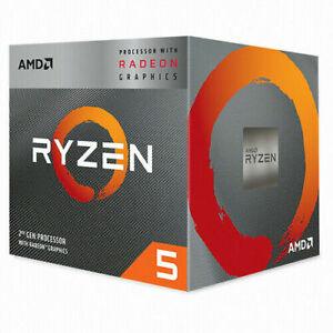 [AMD] Ryzen 5 3400G 3.7GHz 4-Core 8-Threads CPU Processor 65W ⭐Tracking⭐