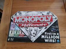 MONOPOLY MILLIONAIRE HASBRO 100% COMPLETE