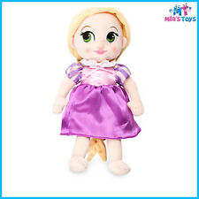 """Disney Animators' Collection Rapunzel 12"""" Plush Doll Toy brand new with tags"""