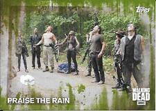 2016 The Walking Dead Season 5 Mold Parallel #60 Praise The Rain #20/25