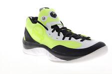 Reebok Zpump Rise AQ9498 Mens Green Mesh Lace Up Athletic Basketball Shoes 13