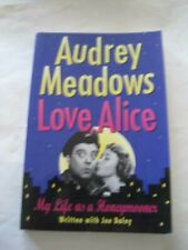 Signed Audrey Meadows Love Alice My Life As a Honeymooner Advance Reading Arc