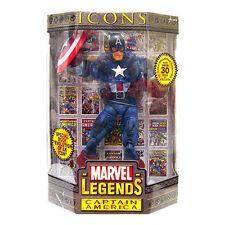 MARVEL LEGENDS ICONS CAPTAIN AMERICA mask PVC figure 30cm Toy Biz
