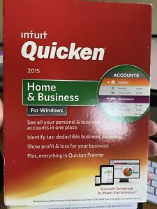 Intuit Quicken 2015 Home & Business edition US version