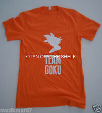 SDCC Comic Con 2015 EXCLUSIVE Dragon Ball Z TEAM GOKU Resurrection F   V Neck
