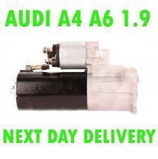 AUDI A4 A6 1.9 TDI 2000 2001 2002 2003 2004 2005 REMANUFACTURED STARTER MOTOR