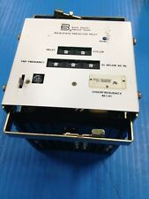 BASLER ELECTRIC BE1-81 UNDER FREQUENCY T1E E1E A2N0F USED (E7)