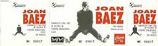 RARE / TICKET CONCERT - JOAN BAEZ LIVE TO LILLE ( FRANCE ) MAI 1993 / COMME NEUF