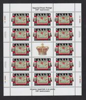 Canada souvenir sheet 1898 Christmas Stamp 1998 #1722 (pane of 14) MNH