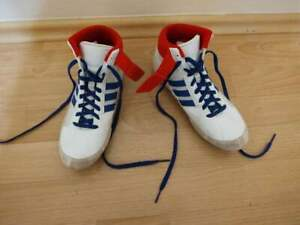 Adidas HVC 2 Youth Wrestling Shoes G25909 - USED Great Condition Size 3.5