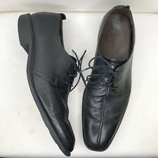 Cole Haan men's Dress shoes size 13 black leather Lace Up Tie Rubber Soles