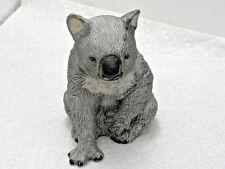 "Vintage Royal Heritage China Koala Bear Figurine Hand Painted 4 1/4"" Tall Mint!"