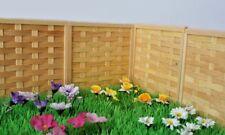 Märchen-garten Holz Zaun Paneele - Sehr Gut Qualität - Neu & Verpackt- 1:12