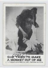 1961 Leaf Spook Stories #67 She Tried to Make A Monkey Out Of Me Card 0s4