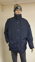 Authentic Woolrich Men's Deep Navy Langhorne Parka Jacket 550 Fill Down 16106