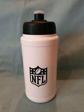 Rare NFL & Motorola Decorated Black & White Sports Water Drink Bottle BN