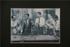 Rat Pack Print of Original Drawing Portrait 8x10 Matted decor Gift picture art